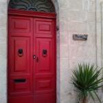 Дверь дома на улице Мдины, Мальта