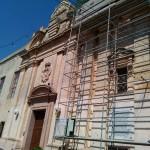 Один из храмов Мдины на реставрации