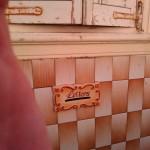 Керамический почтовый ящик на стене дома - Мдина, Мальта