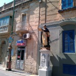 Статуя на улицах Мдины, Мальта