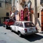 Русские автомобили на Мальте, Мдина