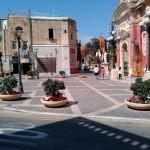 Площадка перед храмом. Мдина, Мальта