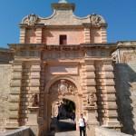 Главные крепостные ворота. Мдина, Мальта