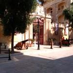 Пушки внутри крепости, Мдина, Мальта