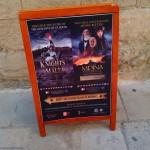 Афиша аттракционов во Мдине, Мальта