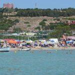 Пляж Mellieha Bay на Мальте