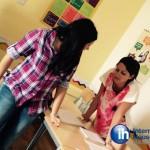 Студенты на перерыве между обучением английскому