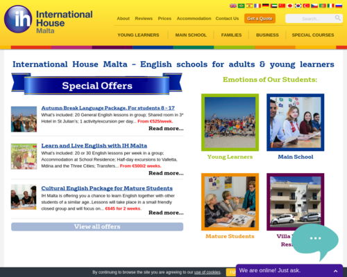 Learn English in Malta (St  Julians) with International