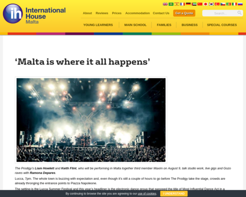 Malta is where it all happens