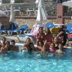 Дети в бассейне детского летнего лагеря, Мальта