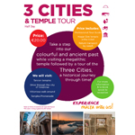 3 Cities and Temple tour