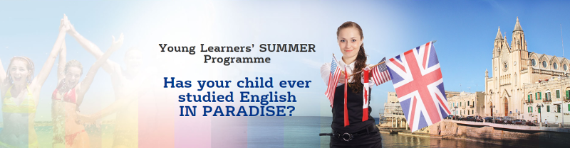 Has your child ever studied English in Paradise?