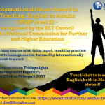 International House Award in Teaching English to Adults