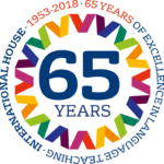 IH World Organisation Logo - 65 years