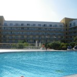 Intercontinental Hotel Malta: back yard