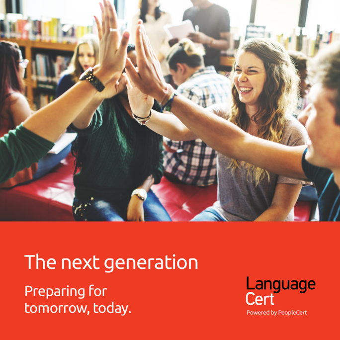 Languagecert: the next generation. Preparing for tomorrow, today
